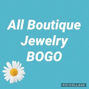 All Boutique Jewelry is BOGO